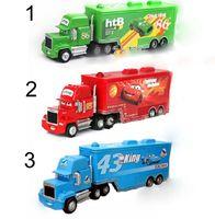 Cars 2 Mack Chick hauler Thai Pixar Car Lightning Hick Truck...