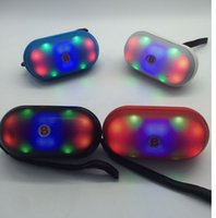 Pill Speaker with LED Flashing Light Pulse Bluetooth Mini Sp...