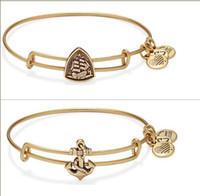 12pcs 1- 8 modèles Style de Charm Bracelet extensible amour d'espoir femmes Bangles Alex Ani bijoux pour les femmes Bangle