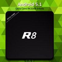 RK3368 R8 Octa Core TV BOX Android 5. 1 4K HD Smart media pla...