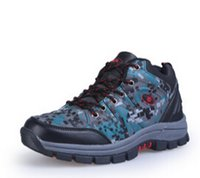Wholesale- Free Shipping 2015 Camouflage Outdoor Shoes Men Hi...