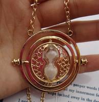 24pcs Vintage Style Harry Potter Temps Collier Turner The Golden Snitch bijoux populaires Antique Cadeau