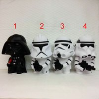 15cm Star Wars piggy bank Darth Vader Stormtrooper Jedi stor...