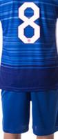 Newest usa 2016 soccer jerseys set, shirts+ pants blue equipac...