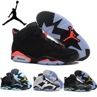 2016 New Free Shipping Nike Air jordans 6 Mens basketball sh...
