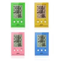 Termostato Digitale LCD Termometro Igrometro di Temperatura Misuratore di Umidità w/ via cavo Sensore Esterno Tester Elettronico 2015 Nuova H14478