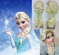 Frozen Elsa Wigs For Ice Princess Elsa Cosplay Wigs Children...
