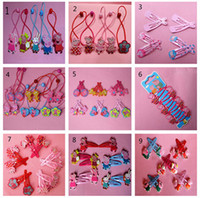 50mm- 60mm 9styles friends Pink pig family hairpin ornament B...