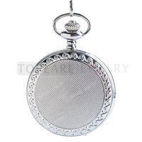 Teboer Bijoux Design Classique Argent Case Quartz Pocket Watch LPW175
