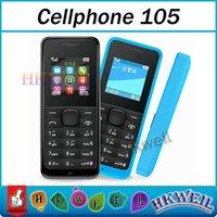 Dual Band 105 Cell Phone 1. 45 Inch Screen Single Sim Card MP...