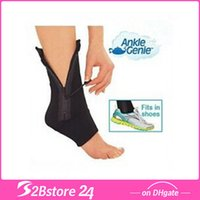 Ankle Genie Zip Up Compression Support Foot Brace Sock Packi...