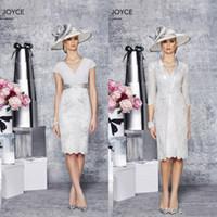 Designer 2016 Junoesque Sheath Mother Of The Bride Dress V- N...
