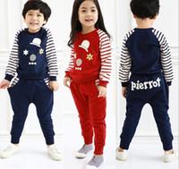 2016 Joker Stars Stripe Girls Boys Cotton 2pcs Sets Children...