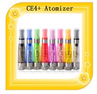 CE4s atomizador CE4 8 colores + vapor atomizador 2.4ohm pluma 1,6 ml de EGO cigarrillos electrónicos para Kit EGO CE4s arranque