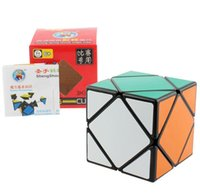 ShengShou Skewb Puzzle Speed Cube Black 57mm Educational Toy...