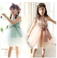 Summer Baby Girls Dresses 2015 Children Clothing Sleeveless ...