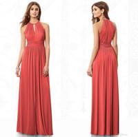 Tangerine Bridesmaid Dress - Ocodea.com