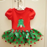 Girl Christmas Dress 5 Sizes 1- 6Y Short Sleeve Princess Dres...