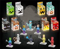 Minecraft JJ creeper with weapon Building Block Toy minifigu...