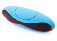 Портативный беспроводной Bluetooth спикер мини аудио MP3-плеер Регби Сабвуфер Минидинамики поддержки TF / AUX / USB / FM-бесплатная доставка 1 шт /