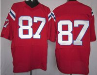 2015 super bowl jersey for sale free shipping, #87 Red buy s...