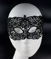 New type Masquerade Halloween Exquisite Lace Half Face Mask ...