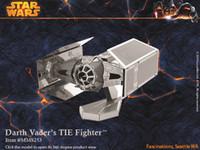 DIY 3D Models Star wars ATAT Tie Fighter Kits Metallic Nano ...