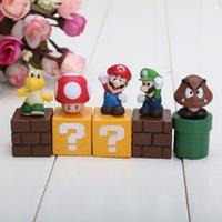 SALE Super Mario Bros Action Figures New PVC Mario Luigi mus...