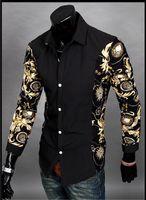 Jeansian homens moda algodão designer cruz linha Slim Fit vestido homem camisas Tops Ocidental Casual New M L XL XXL 3 cores mais recentes