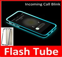 New LED Flash Light UP Remind Incoming Call Cover Case Ultra...