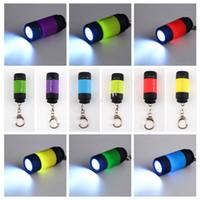 Новый мини фонарик 0.3W 25LM карманный мини факел USB зарядное устройство аккумуляторная светодиодные лампы брелок фонарик