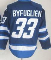 2015 #33 Dustin Byfuglien Dark Blue St. John' s IceCaps ...