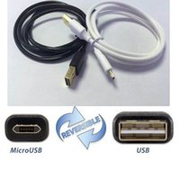 Double Side USB Charging Cable Fast Cable Wire For Samsung G...