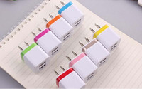 Universal Portable Dual USB EU US Plug Home AC Power Adapter...