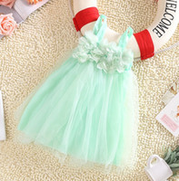 Sweety Baby Girls Princess Braces Skirts Lace Mesh Flowers T...