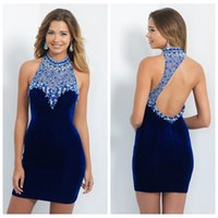 Wholesale Royal Blue Bodycon Homecoming Dresses - Buy Cheap Royal ...
