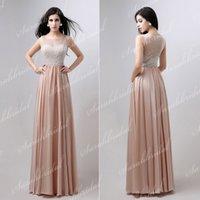 Formal Dress Evening Dresses 2014 New Vestidos Champagne Nud...