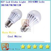 E27 Led Globe Light 3W 5W 7W 9W 12W 3014SMD Leds Bubble Ball...