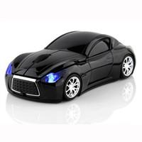 DHL libre Infiniti voiture forme 2.4GHz souris sans fil 1600DPI optique souris de jeu sans fil souris souris pour PC portable ordinateur de bureau