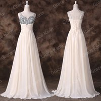 Grace Karin New Elegant Long A- Line Chiffon Evening Gowns Sw...