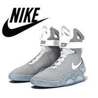NIKE AIR MAG Shoes LED Mens Nike Mag Basketball Shoes Fashio...