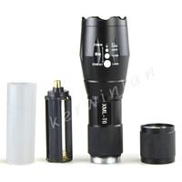 UltraFire фонарик CREE XM-L T6 LED 2000 люмен Масштабируемые Высокая мощность фонарик факел Увеличить Свет лампы