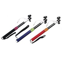 Wired Cable Extendable Handheld Selfie Stick Pole Tripod Mon...
