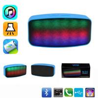 N20 Water Cube Mini Bluetooth Speaker Portable LED Stereo Hi...