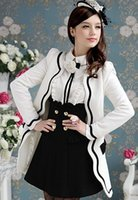 2014 Women' s Clothing Fashion Wool & Blends White petal...