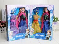 30cm Frozen Dolls Frozen Princess Elsa&Anna Doll figure Toy ...