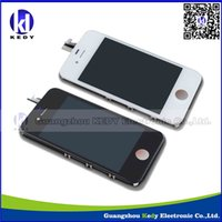 DHL Freeship LCD Display For iPhone 4 iphone 4s GSM CDMA wit...