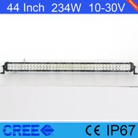 Light Sourcing 44 Inch 234W Cree Light Bar With Screws For W...