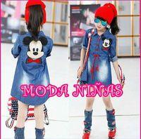 2015 Spring Fashion Korean Mickey girl Princess long sleeve ...