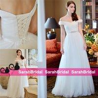 2016 Lace up Wedding Dresses Bohemian Hippie Style Fashion D...